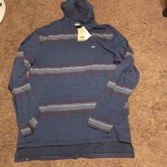 90c2ab95c4 Vans hoodie shirt. M 5bf36fe9a5d7c68eb7d52f03